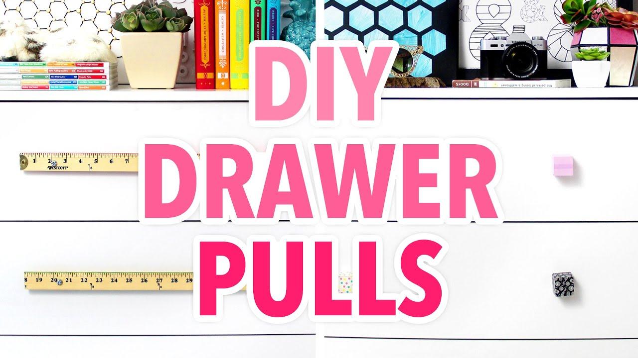 5 DIY Drawer Pulls to Dress Up Any Dresser - HGTV Handmade - YouTube