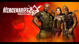 Gameplay - Mercenaries 2 World in Flames PC - Missão 1 - Detona tudo!!!