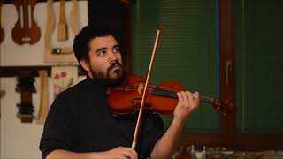 Violino G XXIV 2017 - Prova Damiano Barreto