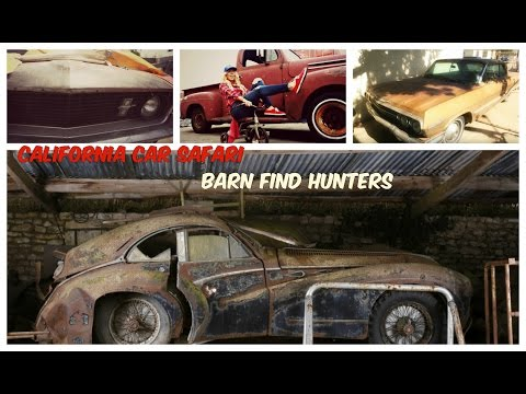 Southern California Barn Find Car Hunters with Michael Madsen - Impala and Mustang Mach 1