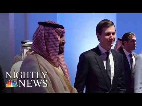 Jared Kushner Sidesteps Question About Khashoggi Murder In Rare Interview | NBC Nightly News