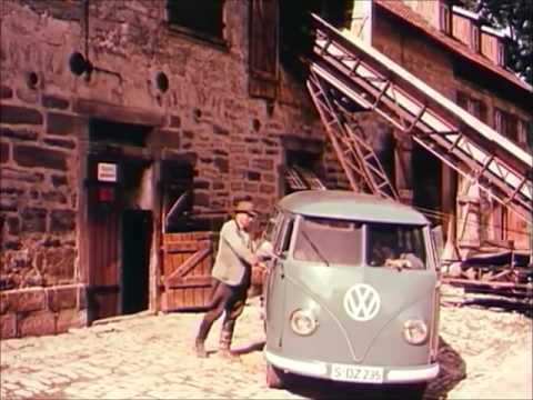 classic vw transporter ad: vollkommen wirtschaftlich!