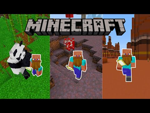 How To Instantly Find Any Biomes In Minecraft!(Very Easy Method) MCPE,PS4,XBOX,Windows10,Switch,Java