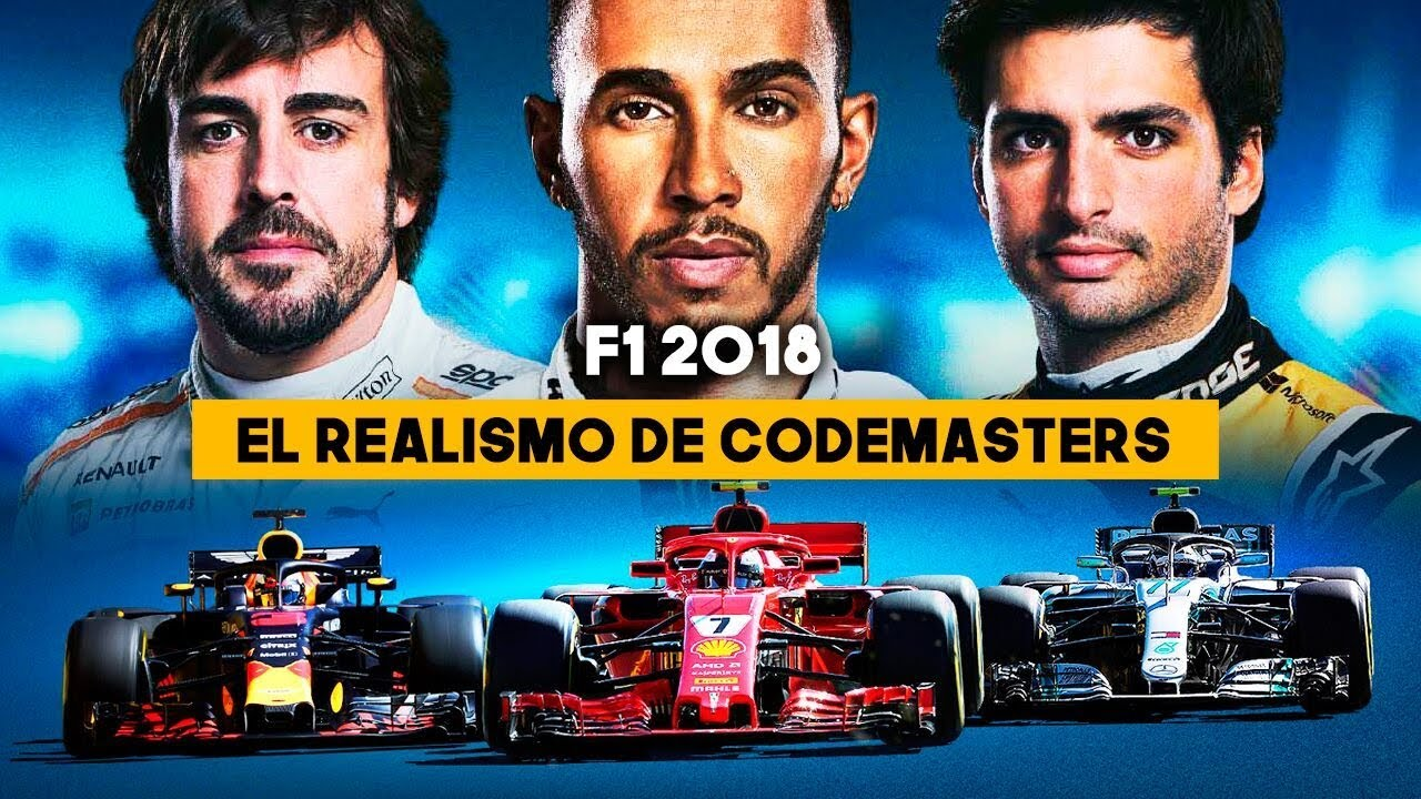 gameplay f1 2018 el realismo de codemasters youtube. Black Bedroom Furniture Sets. Home Design Ideas