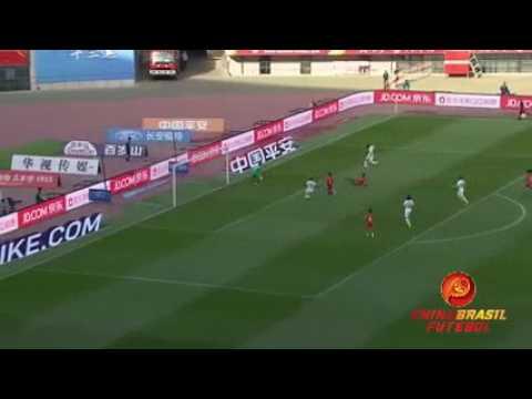 Gol Szabolcs Huszti - Changchun Yatai x Tianjin Quanjian - 8a rodada da Super Liga da China 2017