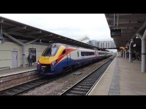 Derby Railway Station - featuring LMS Princess Royal 46201 Princess Elizabeth