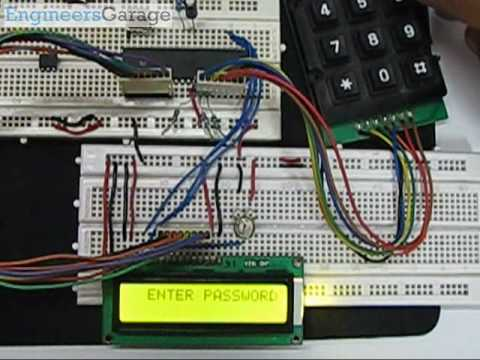 Electronic Keypad Lock Project Using 8051 Microcontroller