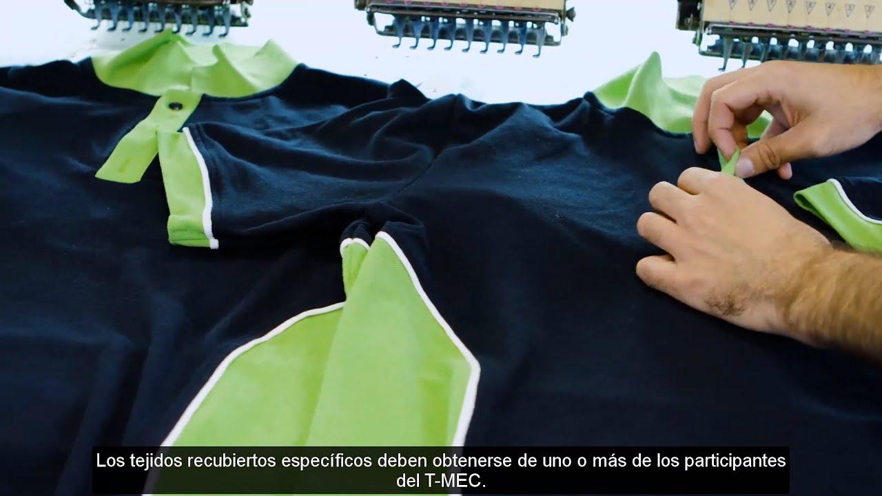 Los cambios para las industrias textil y de ropa de vestir (Spanish Captions)
