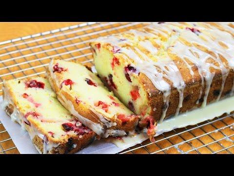 Cranberry Loaf Cake - Dalya Rubin - It's Raining Flour Episode 107
