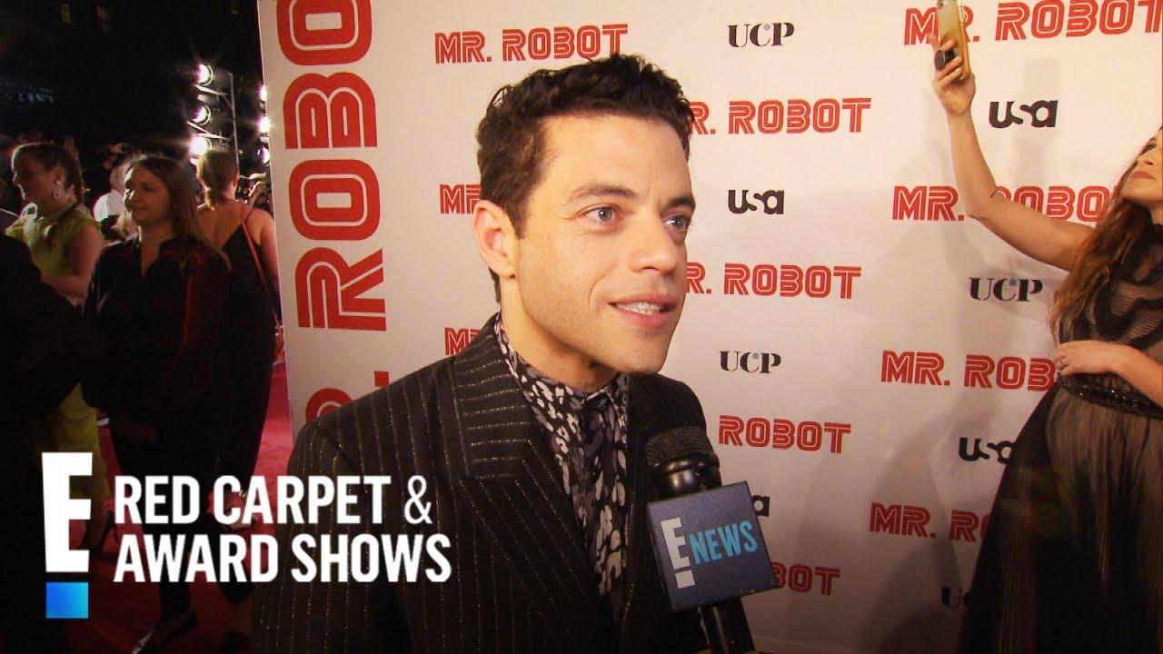 "Download Rami Malek Talks Final ""Mr. Robot"" Season & Oscar Win | E! Red Carpet & Award Shows"
