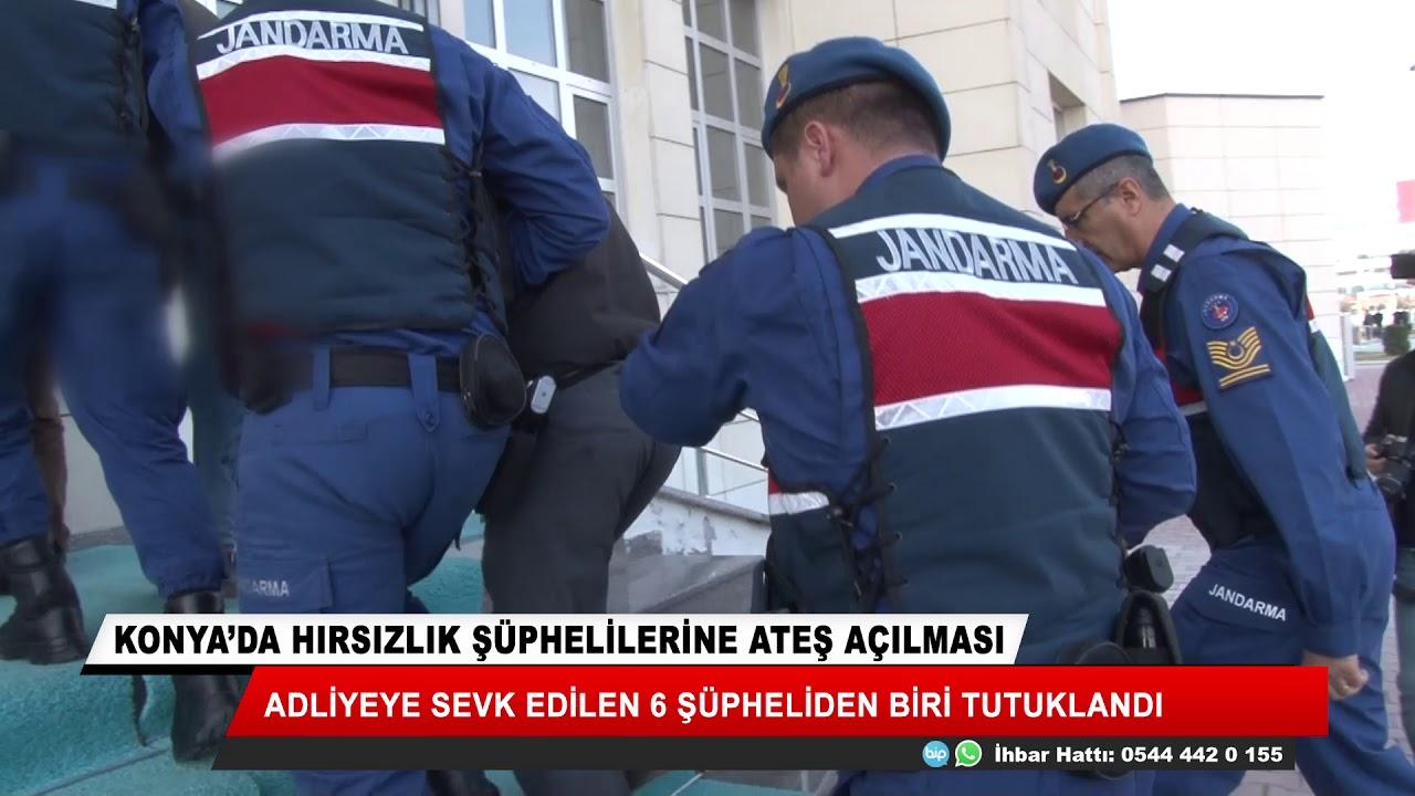 Konya'da hırsızlık şüphelilerine ateş açan bir kişi tutuklandı