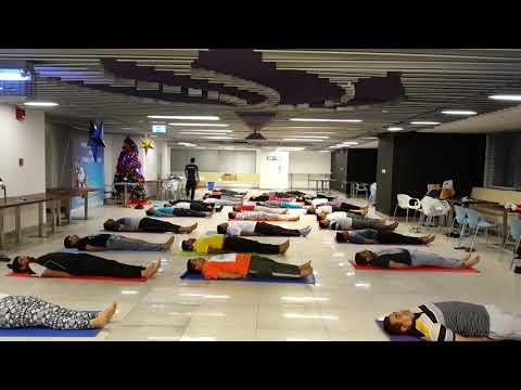 Yoga Class at Abu Dhabi