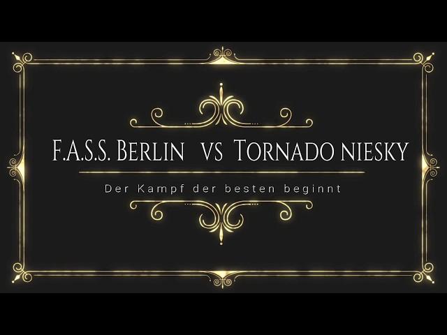 FASS on air: Vorschau FASS Berlin  vs Tornado Niesky