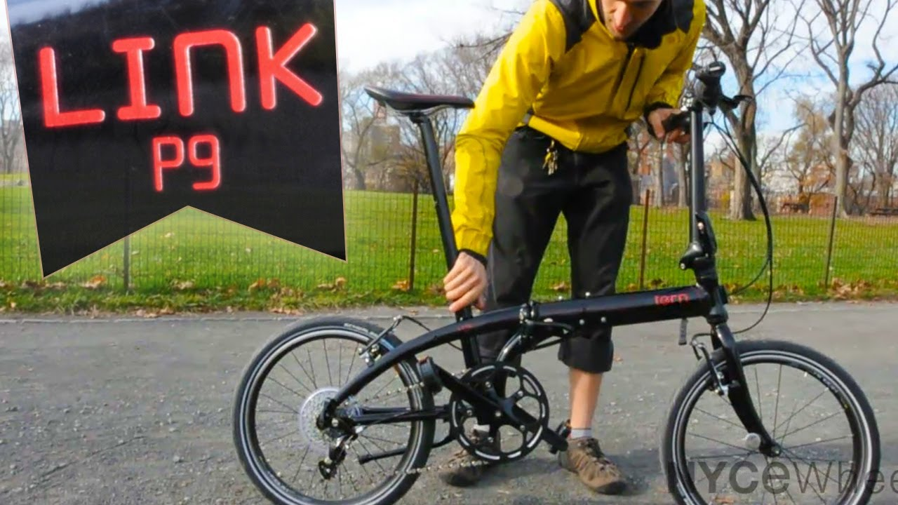 Tern Link P9 Folding Bike Review Youtube