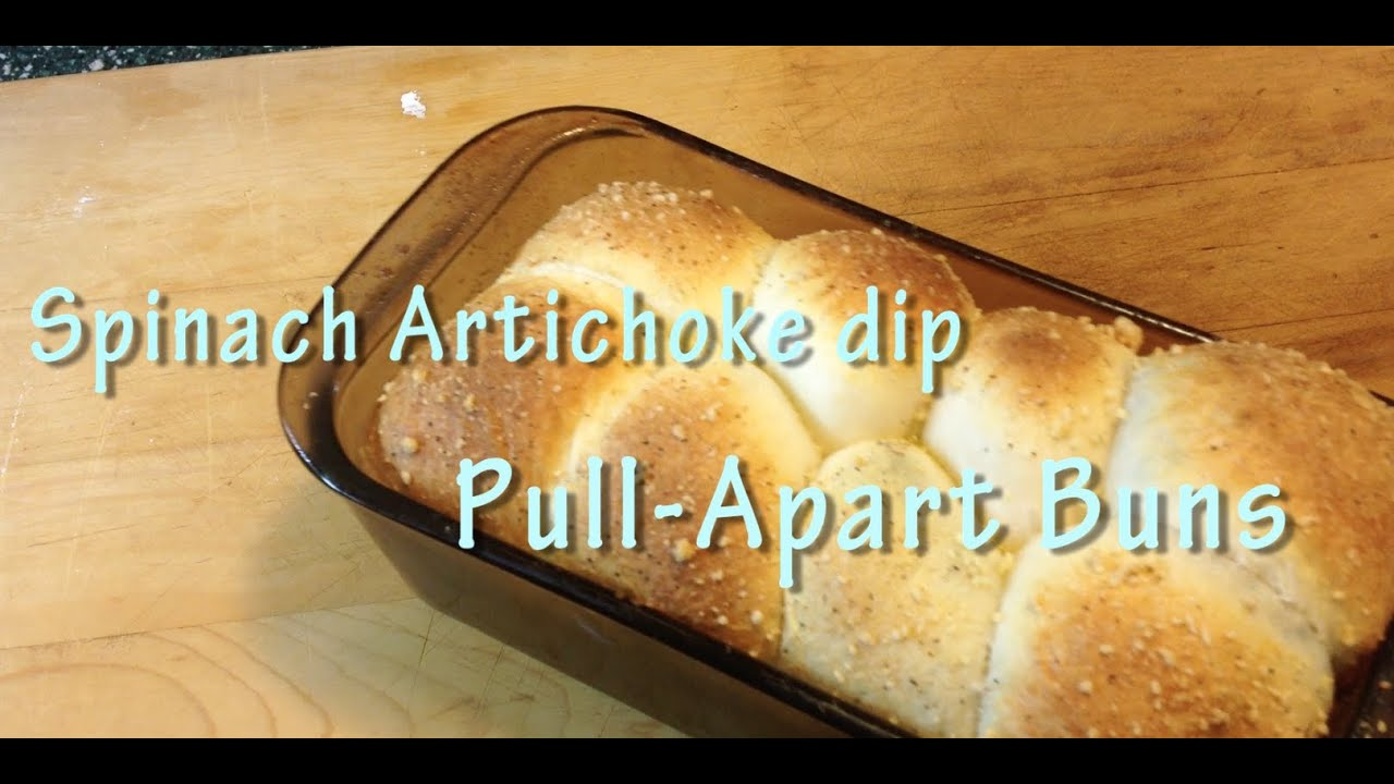 Spinach Artichoke dip ( inspired) Pull-Apart breadYouTube
