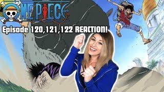Download Video WATER LUFFY vs CROCODILE! One Piece Episode 120,121,122 REACTION! MP3 3GP MP4