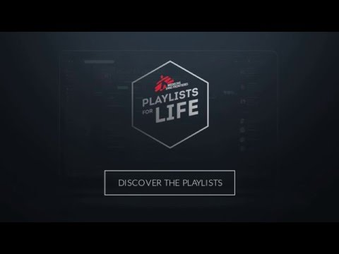 Playlists For Life by Doctors Without Borders via Y&R Prague