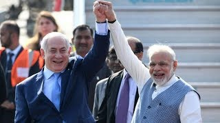 Netanyahu in India for first visit by Israeli PM in 15 years