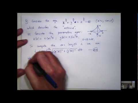 How to compute arc length of an astroid