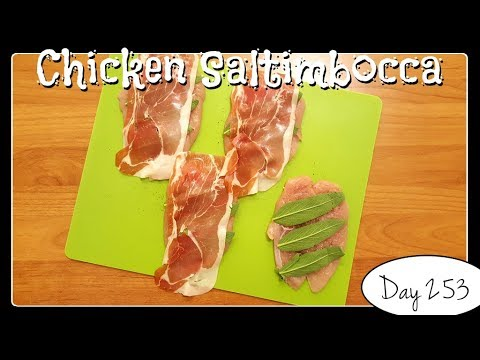 Chicken Saltimbocca Recipe Food Challenge Day 253 Youtube