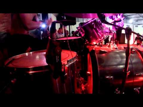 HUMILIATION - Anjing Tanah (Burgerkill Cover) Drum Cam Live At Lombok