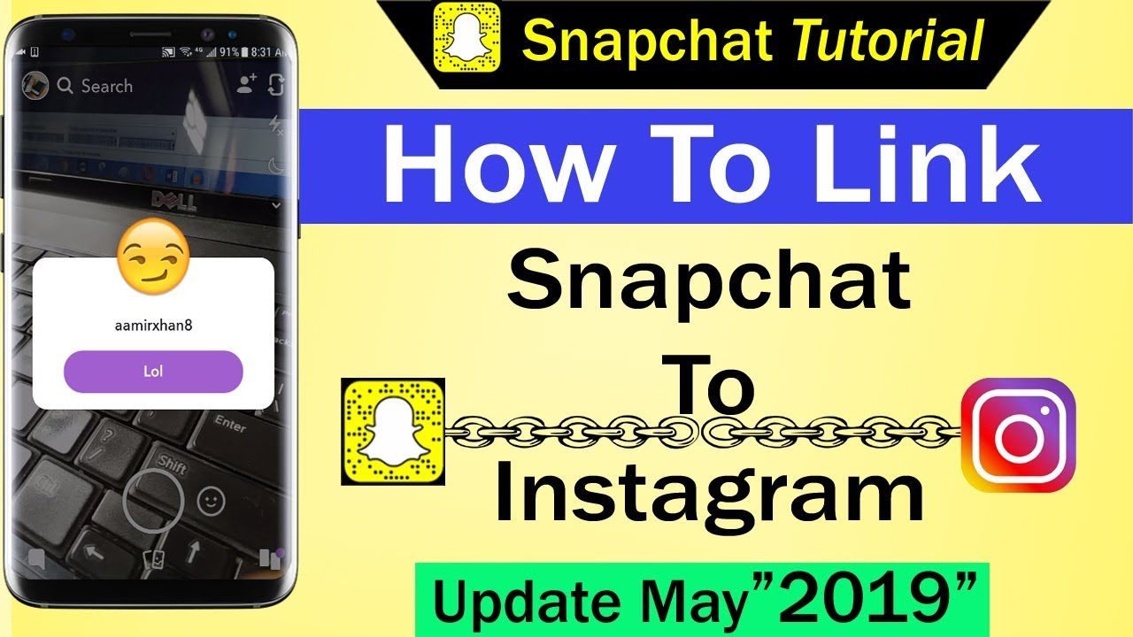 How To Link Snapchat To Instagram