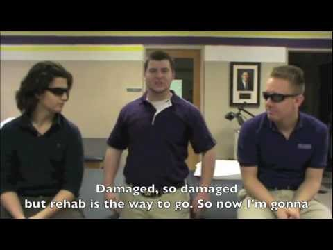 Damaged: The Domain of Treatment and Rehabilitation by WCU Athletic Training Students