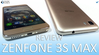 Asus Zenfone 3S Max Review - 5000 mAh Battery Android Nougat