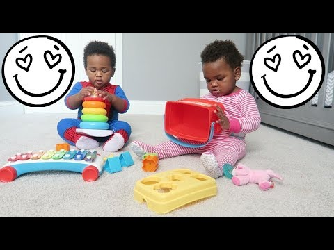 THE CUTEST TWIN BABY PLAYTIME EVER! (WITH LOTS OF BABY LAUGHS!) 😍😍😍😍