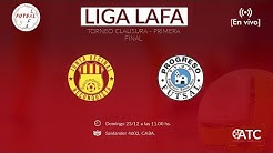 LAFA - FINAL: Reconquista vs. Progreso