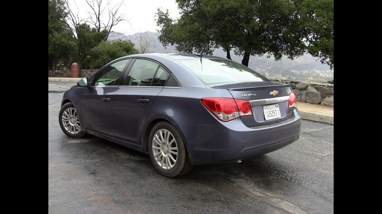 Cruze chevy cruze 2013 eco : 2013 Chevrolet Cruze Eco California Drive and Review - YouTube