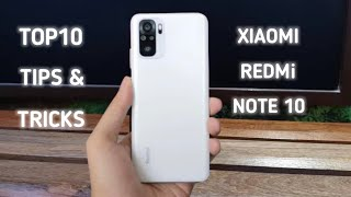 Xiaomi Redmi Note 10 Top 10 Hidden Tips And Tricks |Top Special Features |