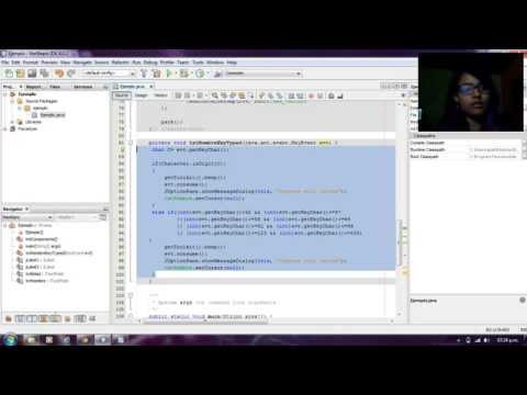 Validar letras, números y caracteres especiales en Java