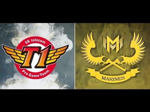 SK Telecom T1 (South Korea) vs Gigabyte Marines (SE Asia) Group Stage MSI 2017