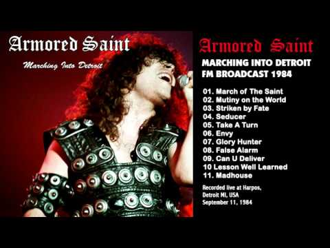 Armored Saint - Detroit FM Broadcast September 11, 1984 HQ