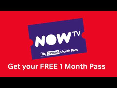 ⭐ 1 Month FREE Pass To NOW TV ⭐