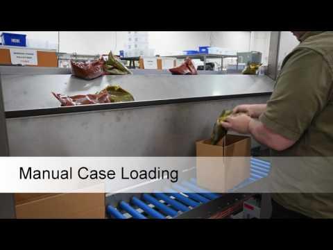 HMPS Carton Erector Manual Load Top Sealer