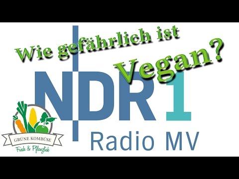 Wie gefährlich ist vegan? - NDR 1 Radio MV - Sendung vom 19.4.16
