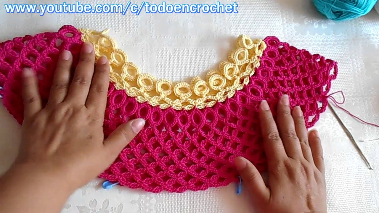 Stream blusa tejida a crochet paso a paso 2 1361 on for Biopiscinas paso a paso