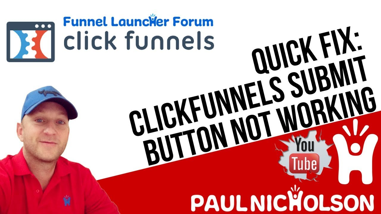 Quick Fix: ClickFunnels Submit Form Button Not Working