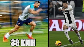 Warum ist Ronaldo mit 34 (!) Jahren einer der schnellsten Spieler der Welt ?!