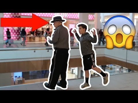SCARING PEOPLE IN PUBLIC PRANK 2!