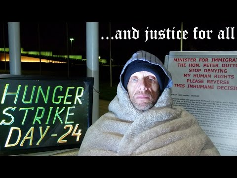 Australian citizen is dying for love next to Parliament House - HUNGER STRIKE IN CANBERRA - 24 DAYS!
