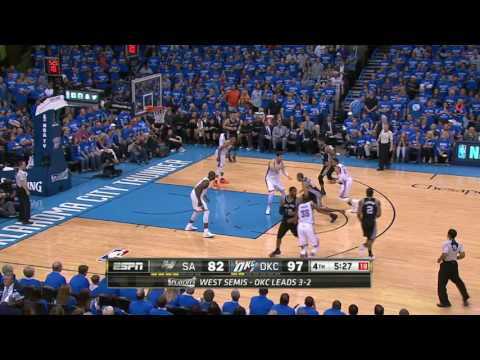 San Antonio Spurs vs Oklahoma City Thunder - May 12, 2016