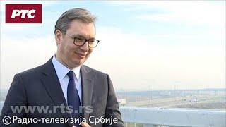 Vučić za RTS: Veliki dan za Srbiju