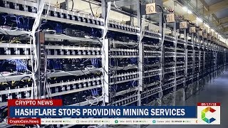 Bitcoin Miners In A Jam After HashFlare Stops Providing Mining Services