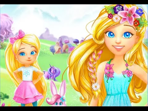 "Barbie Dreamtopia Magical Hair ""Budge Studios Casual Creativity"" Android Gameplay Video"