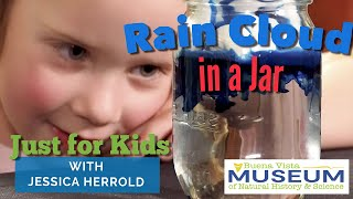 Just For Kids STEM Activities: Rain Cloud in a Jar