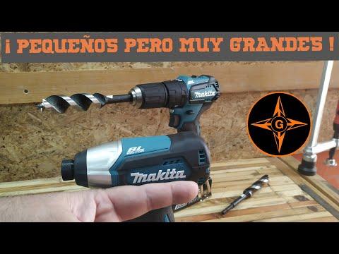 ATORNILLADOR DE IMPACTO MAKITA DTD 155 Y TALADRO PERCUTOR MAKITA DHP 483 MAKPAC