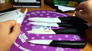 видео Отзыв керамического ножа
